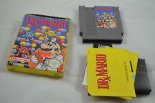 Dr. Mario NES Spiel CIB #1077