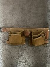 American Work Products Leather Tool Belt Multi Pocket Tool Holder