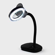 NT LAMPADA LED DA TAVOLO CON LENTE DI INGRANDIMENTO PROFESSIONALE FLESSIBILE LED