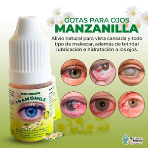 Gotas para Ojos de Manzanilla para limpiar y curar tus ojos - Natural de Mexico