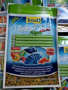 Tetra Pro Algae 100 X 3g sachets Aquarium Tropical Fish Food Flakes 300g