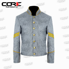 Us Confederate Corporal Cavalry Shell Wool Jacket with Yellow Trim All Sizes