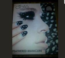 Nib Ciate London Black And White Feathered Manicure Box Set
