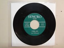 """STACCATOS: Gypsy Girl 2:00-Girl 2:05-U.S. 7"""" 1966 Syncro Records 661,Rock Psych."""