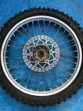 1999 99 Yamaha Yz250 Yz 250 2 Stroke Front Wheel Assembly Rim Hub Tire Spokes