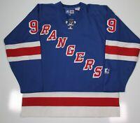 Starter Vintage New York Rangers Sewn Lace Wayne Gretzky Hockey Jersey~ Large
