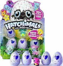 NEW Hatchimals CollEGGtibles Hatching Eggs Season 1, 4-Pack + Bonus Spin Master