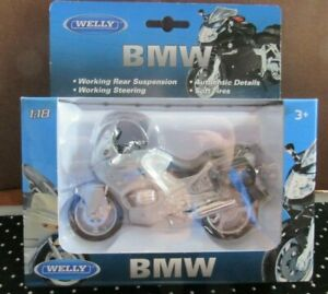 NEW Welly 19676 BMW R1100 RT Motorcycle Diecast Metal & Plastic parts 1:18