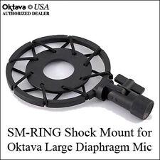 Oktava SM-Ring Mount - Flat Shock Mount - Fits All Large Diaphragm Oktava Mics