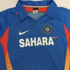 India Sahara Cricket Nike Dri-Fit Mens Small Jersey Shirt Blue 409961-480