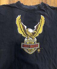 New listing Vtg Harley Davidson T Shirt Biker 3D Emblem Motorcycle Phoenix Az Dealer Rock Og