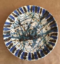 Kravec Studios platter decorative centerpiece wall art porcelain pottery