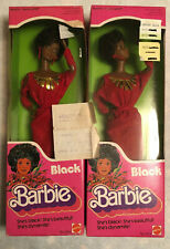 1979 NRFB First Black Barbies w/ Original Purchase Receipt From 1982 SUPER RARE!