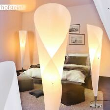 Retro Steh Lampen Stand Boden Lese Leuchten weiß Wohn Schlaf Zimmer Beleuchtung