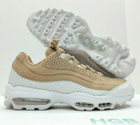 Nike Air Max 95 Ultra PRM BR Mens White Khaki Running Training AO2438-200 NIB