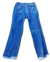 "Vintage Sergio Valente Jeans  34 36 Measure 31 1/2"" X 31 - 32 1970s 1980s"