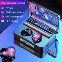 Bluetooth 5.0 Headset TWS Wireless Earphones Mini Stereo Headphones Earbuds IPX7