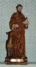 Saint ST FRANCIS of ASSISI w/ DOVE 8 in statue NIB FRANCISCAN STIGMATIST BIBLE