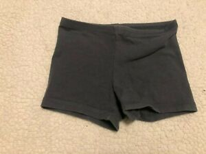 Old Navy Active Girls Size Sz 6-7 S Small Grey Dance Shorts