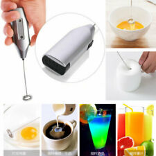 Electric Milk Frothers Handheld Coffee Drink Foamer Whisk Mixer Mini Egg Beater