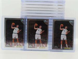 (3) 1998-99 Topps Chrome Dirk Nowitzki Rookie Card RC #154 Lot Mavericks T47