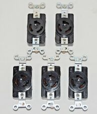 Twist Lock Receptacle 3 Wire - 20A, 125/250V Lot of 5