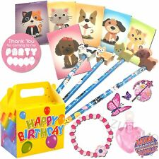 Pre Filled Girls Party Bags Boxes Personalised Birthday Gifts Favours Children