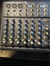 Samson Mixpad 9 Professional Audio Mixer Phantom without Power Supply Untested