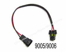 HID Ballast Wiring Harness Extension Cables (Pair) - 9005 9006 Female to Male