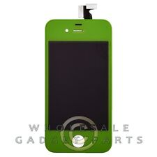 LCD Digitizer Frame Assembly for Apple iPhone 4 CDMA Green  Front Glass Video