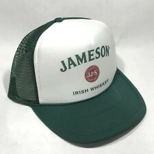 Jameson Irish Whiskey Trucker Hat Vintage Snapback Part Cap Original Dark Green