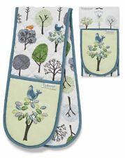Cooksmart Double Oven Glove - Forest Birds 9533