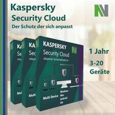 Kaspersky Security Cloud 3 5 20 PC Geräte 2021 1 Jahr
