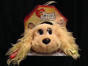 Mattel Pound Puppies Pick Me Pups Cocker Spaniel Animal Toy Dog Plush Animated