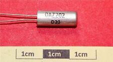 OAZ202 germanio Diodo Zener 5.6V 400mW