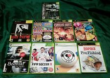 XBOX Video Game Lot 9 count Some discs are near mint to mint !