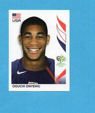 PANINI-GERMANY 2006-Figurina n.347- ONYEWU - USA -NEW BLACK