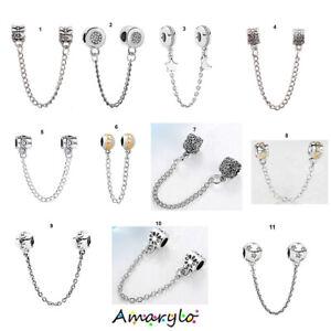 Chaine de sécurité pour bracelet serpent européen compatible - 11 modèles