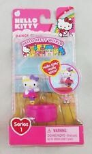 Hello Kitty World Series 1 Dance Class Mini Action Figure NIB Sanrio Doll Spins