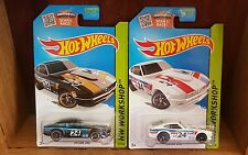 Hot Wheels 2015 HW WORKSHOP THEN AND NOW DATSUN 240Z x2 (US Card) 243/250 (A+/A)