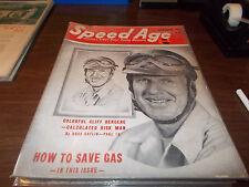 SPEED AGE MAGAZINE November 1951