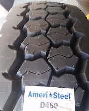 (8-Tires) 11R22.5 tires General D460 16PR tire 11/22.5 Ameri-Steel 11225 USA
