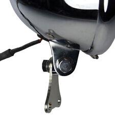 Edelstahl Scheinwerferhalter für Suzuki XS650 XS400 und SR Motorrad Modelle