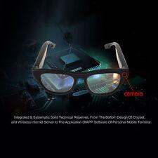 HD1080P WiFi Android IOS APP Eye Glasses Hidden Camera Video W/ Bone Conduction