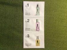 Clinique Cleanse Exfoliate Moisturize - 3 Step Travel Sample