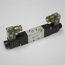 "1/8"" 5/2 Way Electric Control Solenoid Valve DC24V Double Coil 4V120-06"