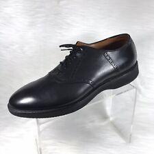 Alden Men's Oxfords Black Leather Size 11.5 A/C USA Goodyear Welt