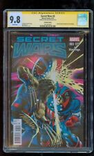 SECRET WARS (2015) # 3 Hastings Variant Cover CGC 9.8 SS Mike Mayhew