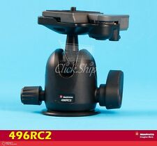 Manfrotto 496RC2 Compact Ball Head with RC2 Quick Release