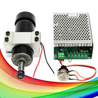 CNC DIY 500W ER11 Chuck Air-Cooled Spindle Motor + 52mm Clamp + Speed